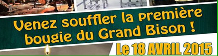 fete du Grand Bison 18 avril 2015